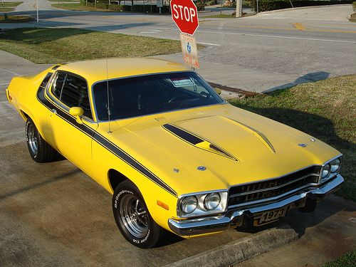 1974 Roadrunner| Hazzard Yellow| Daisy's 2nd in the series of Duke's of Hazard...1st was a '71 or '72 Rd.Runner !!!