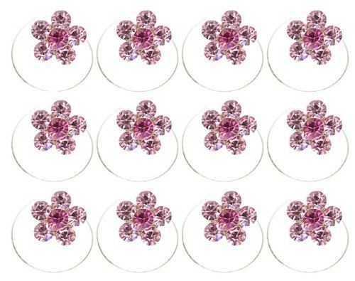 Crystal Hair Twister Set - Pink and Rose PR Hair Accessories. $12.50. Simple to use: just place a lock of your hair into the pin - and twist!. Set of 12 sparkling crystal Twisters. Each twister measures 3/8 inch in diameter