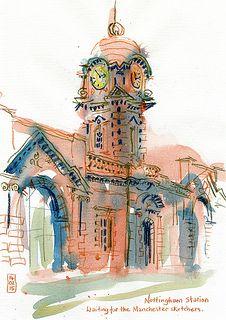 Lynne Chapman - Nottingham-Station | Flickr - Photo Sharing!