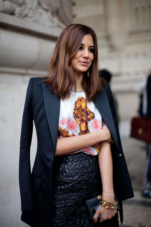 STREET STYLE SPRING 2013 PARIS FASHION WEEK Christine Centenera keeps a major