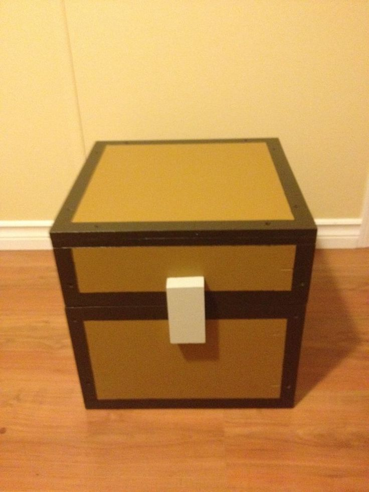 Minecraft Chest.  This woul