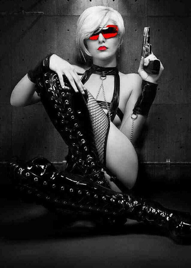 Chicks And Guns  Chicks And Guns -  Pinterest  Women, Girl Guns And Black And -8636