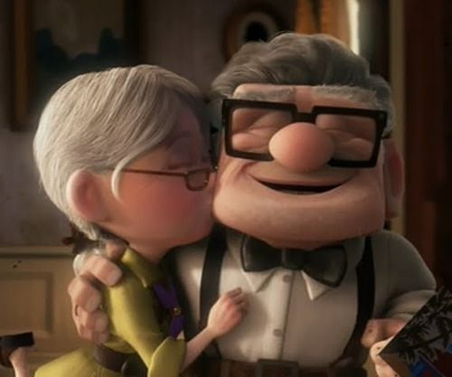 Someday this will be DH and I. And when I die he will be just as grumpy.
