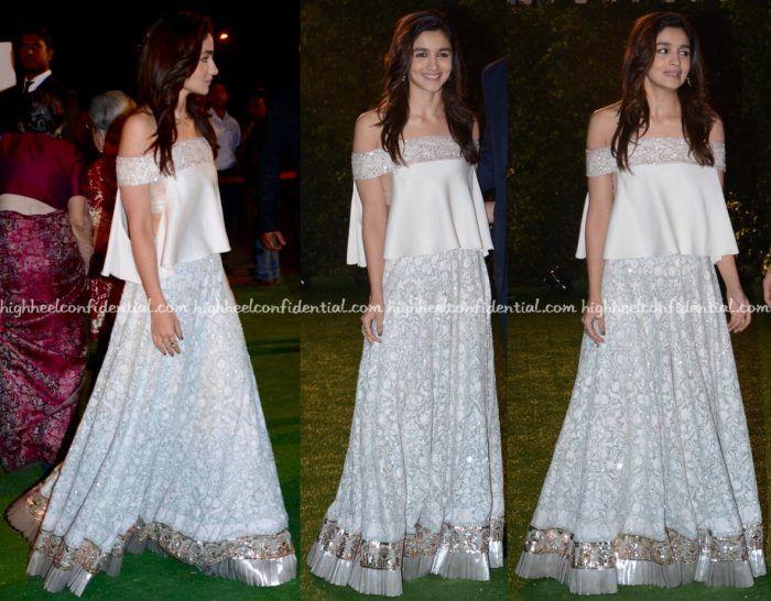Alia Bhatt Wears Manish Malhotra To Trishya Screwvala-Suhail Chandhok Wedding Reception-2