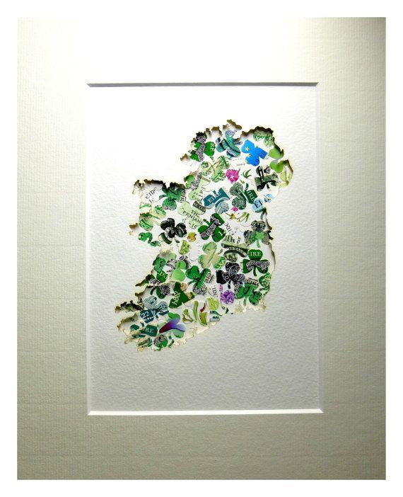 Irish Luck Shamrock Handmade Ireland Spring Green by mIrishDublin