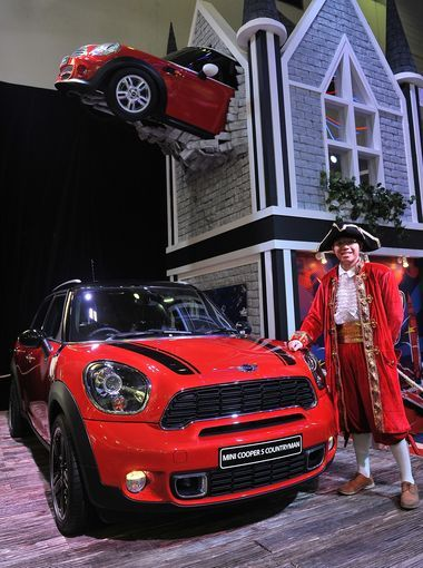 Mini was worst on reliability overall, and the Cooper Countryman was the worst model. Here it is on display at The 21st Indonesia International Motor Show