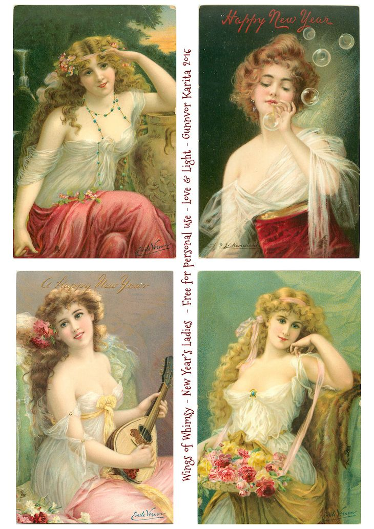 Wings of Whimsy, New Year's Ladies