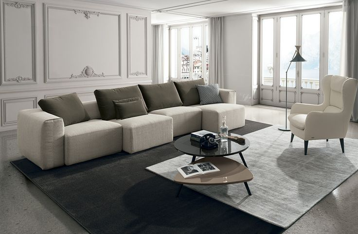 Comfortable, cuddly, relaxed living rooms. Perfect for curling up in during the cooler months. #Eurocasa #Living #Rooms