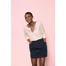 blouse shifumi dore @ DES PETITS HAUTS