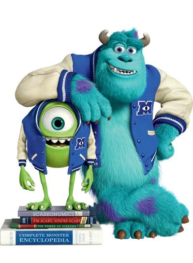 Mike & Sulley | #DieMonsterUni ©Disney•Pixar