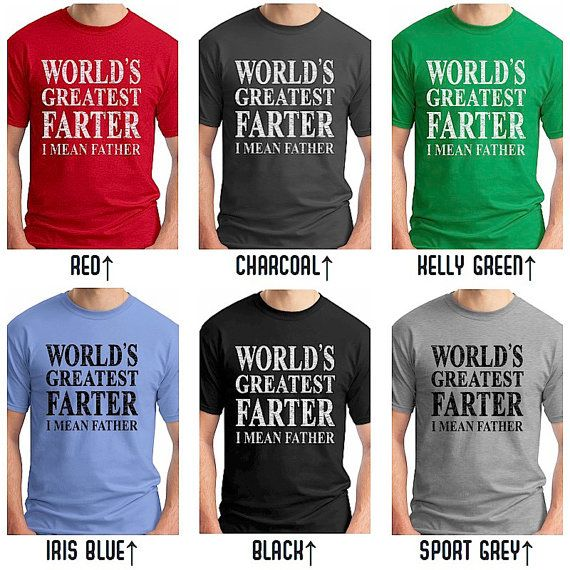World's Greatest Farter I Mean Father T Shirt. by EconomyGrocery