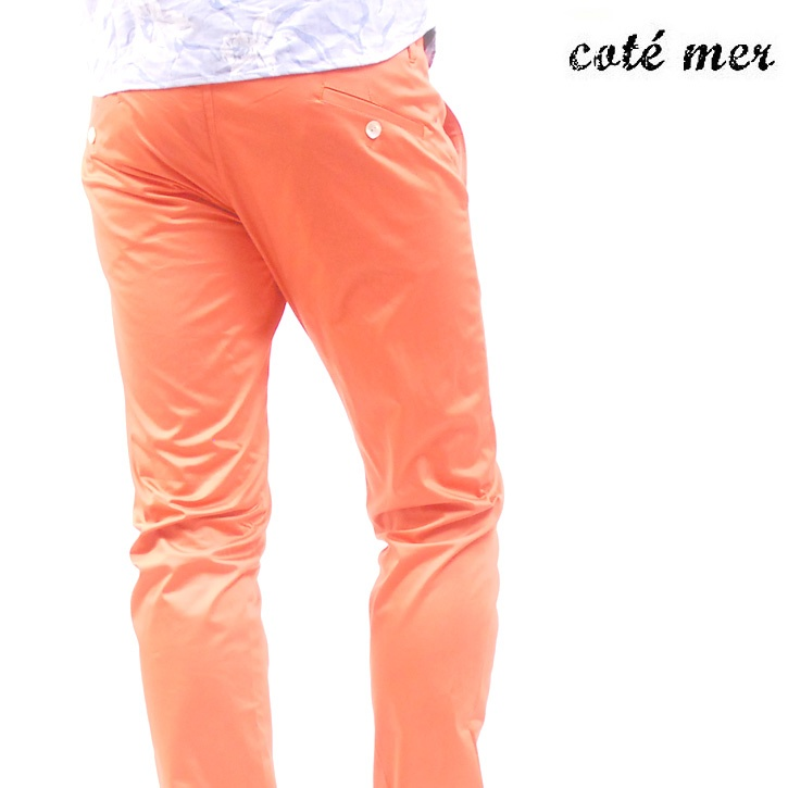 COTE MER (コートメール) チノパンツ オレンジ PT-S13-002【送料無料】 op-cot-010