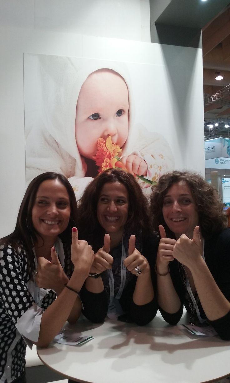 Go girls #ESHRE2015 #IVF congress