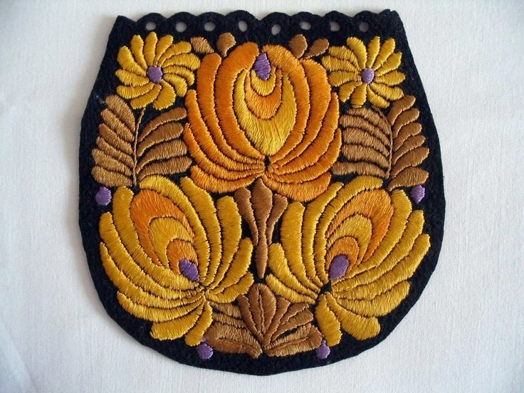 Antique MATYO SILK EMBROIDERED TABLECLOTH  decoration Multi-Color Art Nouveau