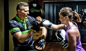 Groupon - One Month of Unlimited Fitness Training for One ($ 19) or Two People ($35) at 12 Round Fitness, Milton (Up to $275 Value) in Milton. Groupon deal price: $19