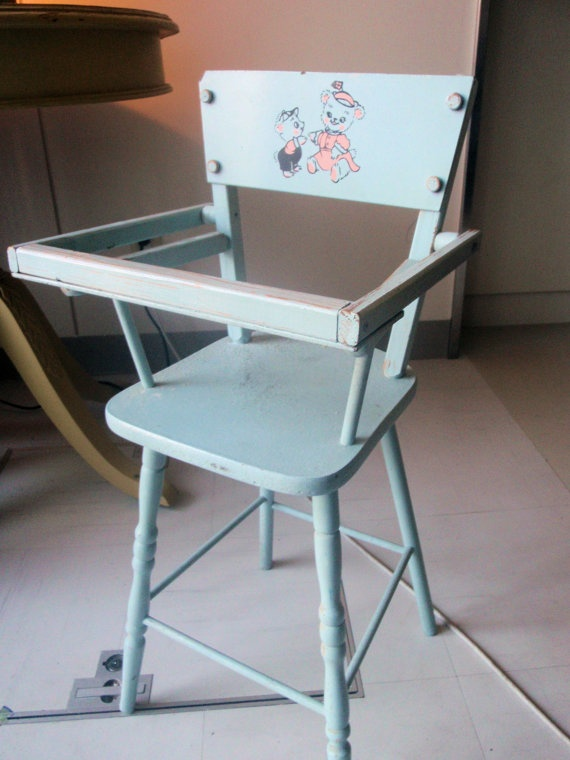 Vintage Highchair for doll circa 1950's Cass Toys by sandbar6, $35.00 - 235 Best DOLL ACCESSORIES Images On Pinterest Memories, DIY And