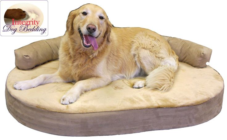 87 Best Images About Bolster Dog Beds For Large Dogs On