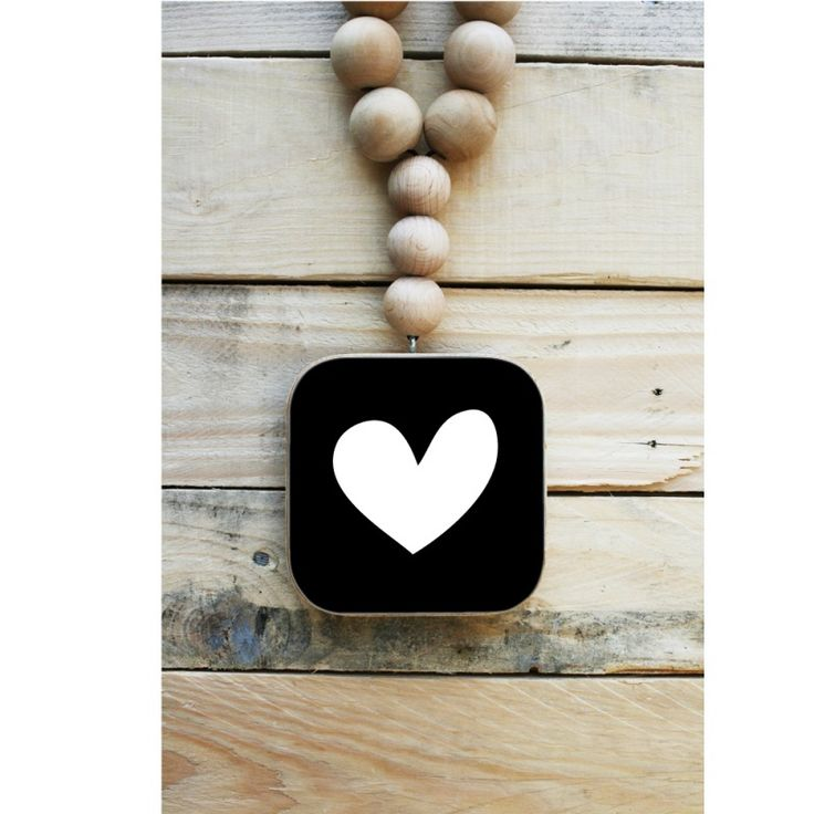 Dots Lifestyle Woonketting - Hart