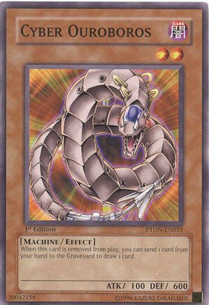 Cyber Ouroboros | YU-GI-OH CARDS | Cards, Monster cards, Baseball cards