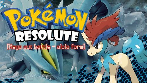 """http://www.pokemoner.com/2014/02/pokemon-resolute-version.html Pokemon Resolute Version  Name:  Pokemon Resolute Version  Remake From:  Pokemon Emerald  Remake by:  1158  Description:  This hack is about a trainer(LOGAN/ALMA)who lives in Cedar City of SYLONone dayprofessor AVERY order you to go to his laband when you're getting thereyou found that Team Miragethe organization which broken down 1 year ago in TYRON is trying to make a comebackand they declare that they'll start a """"reform""""what's…"""