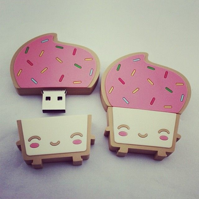 USB en forma de pan tostado