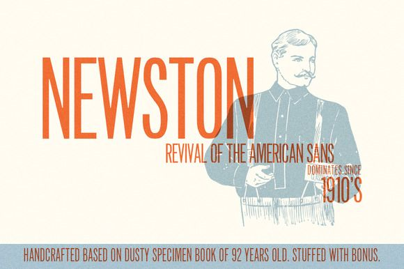 Newston by Gearwright on Creative Market