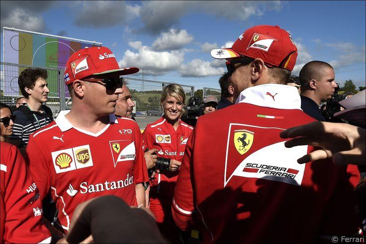 Chi è Britta Roeske, l'addetta stampa Ferrari di Sebastian Vettel