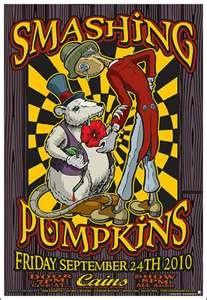 Concert poster art #music Smashing Pumpkins