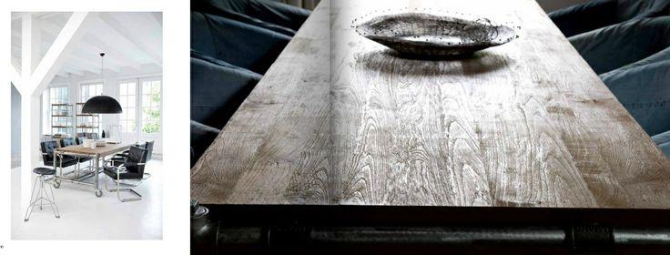 De visie achter deze meubelen is er één van vooruitstrevende duurzaamheid en eerlijkheid. Alle collecties worden geproduceert van 100% gerecycled Aziatisch Teakhout. Door een zeer efficiënte werkwijze wordt 95% van het aangekochte hout daadwerkelijk verwerkt tot meubels en accessoires.
