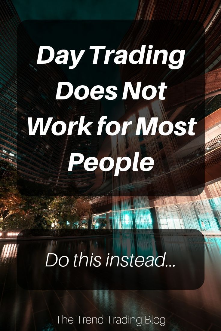 In This Article Discover Why Day Trading Does Not Work For Most