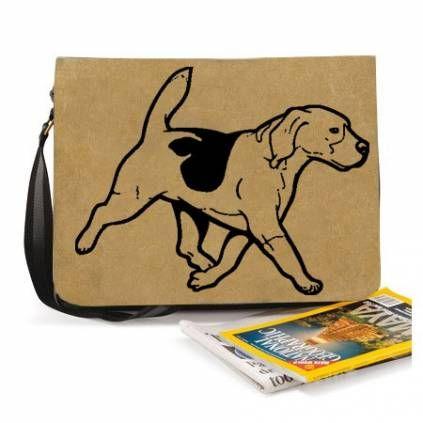 BaumwolltaschenBaumwoll-Tasche: Beagle 7