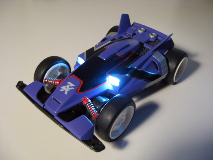 Proto Emperor ZX restored and restyled by Aran | Mini 4WD | #Mini4WD | #Tamiya