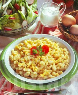 Lajos Mari konyhája - Tojásos galuska – klasszikus recept