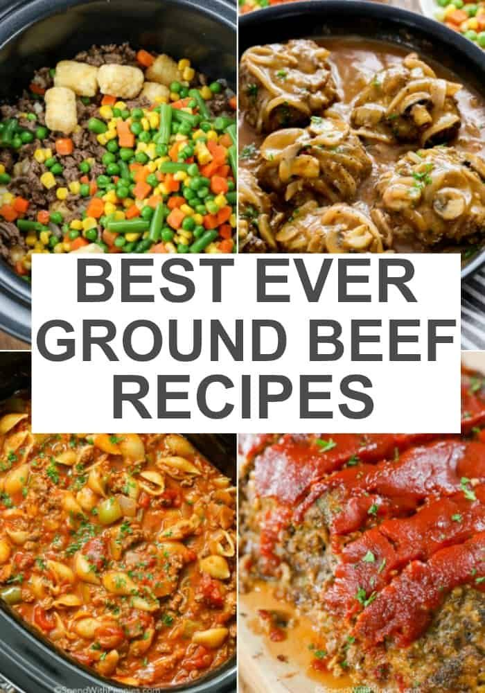 This Collection Of Ground Beef Recipes Is The Best There Is Something For Every Person Or Cuisi Ground Beef Recipes Easy Best Ground Beef Recipes Beef Recipes