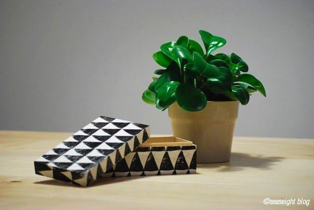 come riciclare una vecchia scatola di legno (©seaseight blog) Tutorial qui: http://seaseight.blogspot.it/2013/08/diy-come-riciclare-una-vecchia-scatola.html