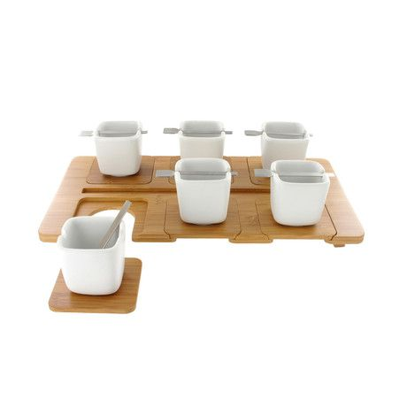 Check out what's on sale at TouchOfModernKookii Trays, Teas Time, Sok Cham, Servings Trays, Coffe Sets, Teas Sets, Kookii Coffee, Products, Coffe Service