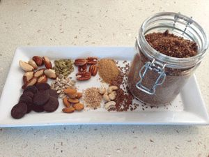 This is a fabulous, healthy alternative to Milo - recipe by Cathy Benson