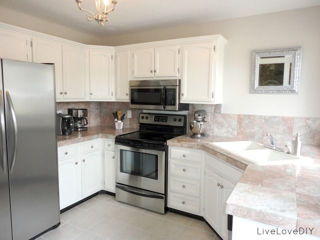 gorgeous kitchen redo on a budget. How To Paint a Kitchen: Paint Colors | LiveLoveDIY
