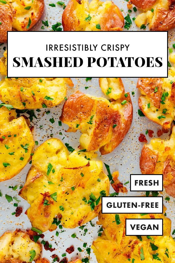 Apr 8, 2020 – These crispy smashed potatoes are utterly irresistible! I dare you not to eat them straight from the pan. …