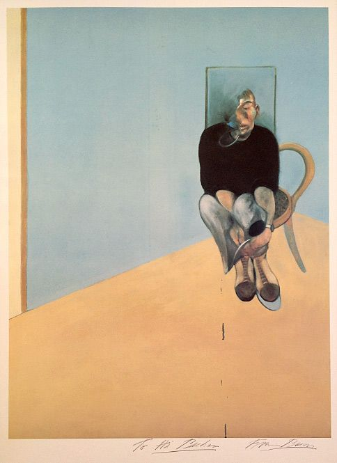 Francis Bacon Study for Self Portrait, 1982 (1984)