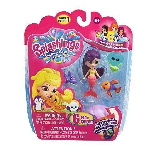 splashlings wave 1 toy figure style 12 by splashlings
