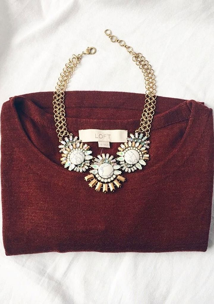 Sparkling Marble Statement Necklace #fashion #outfit #summer #silver - 28,90 € @happinessboutique.com
