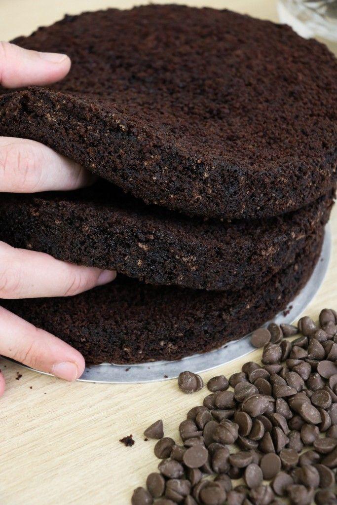 Bolo De Chocolate Profissional Fofinha Gabriel Freitas 3 Ovos 2