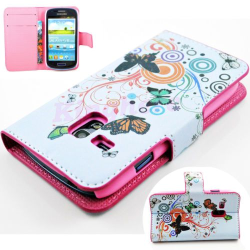 Flip-Leather-Stand-Credit-Card-Cover-Case-For-Samsung-Galaxy-S3-SIII-Mini-i8190