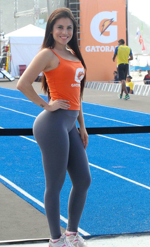 Sexy chick in yoga pants big boobs picture 239