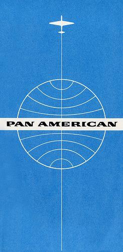Pan Am Ticket Jacket - Circa 1960s: American Ticket, Vintage Travel Posters Pan Am, Ticket Jackets, Circa 1960, Graphics Design, Airways Ticket, Vintage Pan, Panam Ticket, Pan American