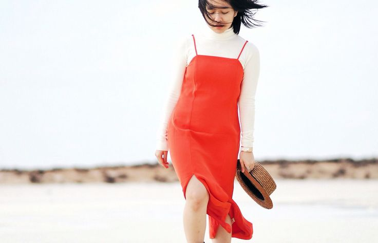 #cmeocollective Playmate Dress in Red; Shot at Lake Tyrrell ❤️ #66thelabel (Instagram: @michelle.ong_)