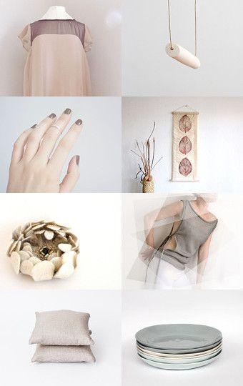 Between Pink, Beige and Grey
