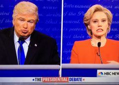 'SNL' Donald Trump, Hillary Clinton Presidential Debate – Watch Cold Open Video