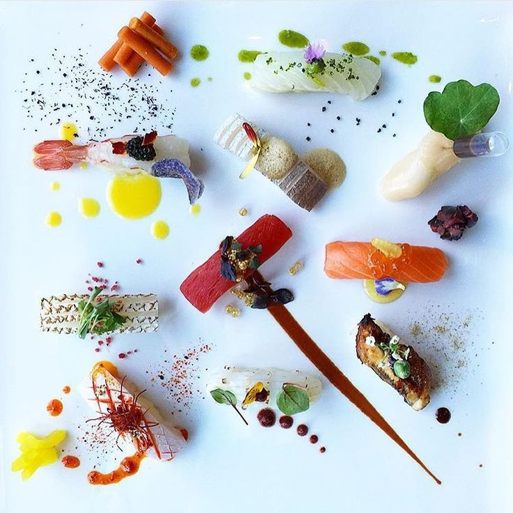 """#Sushi by @chefjohn #TheArtOfPlating"""